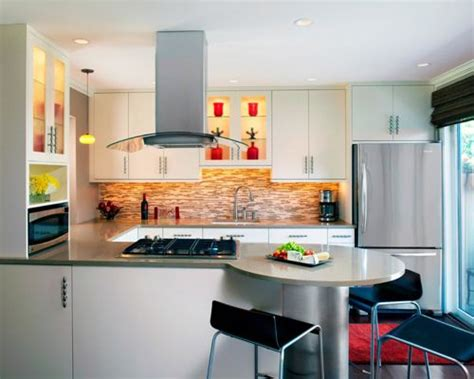 modelos de cocinas  apartamentos pequenos