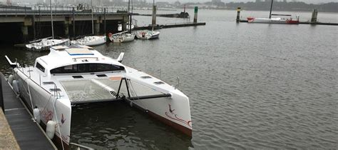 catamaran electric motor the ts42 hybrid catamaran is a fast cruising catamaran