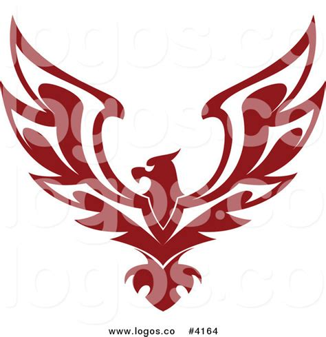 royalty free red eagle logo by seamartini graphics free