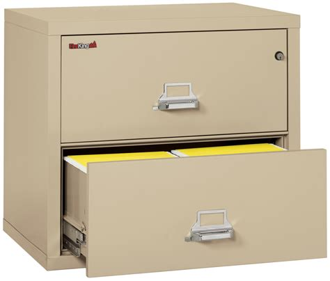 Fireproof Lateral File Cabinets Fireproof Fireking 2 Drawer Lateral 31 Quot Wide File Cabinet Fireproof File Cabinets