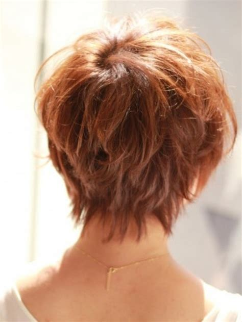 hairstyles back view only layered bob hairstyles back view short layered bob