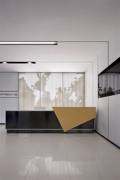 modern office reception desk best 25 reception counter design ideas on