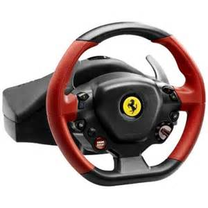 Best Steering Wheel For Xbox 360 Forza Horizon Forza Horizon 2 458 Spider Replica Racing Wheel