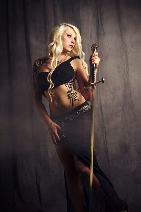 the2leep hot girls with sword photo shoot 34 best sexy warrioress images on pinterest female