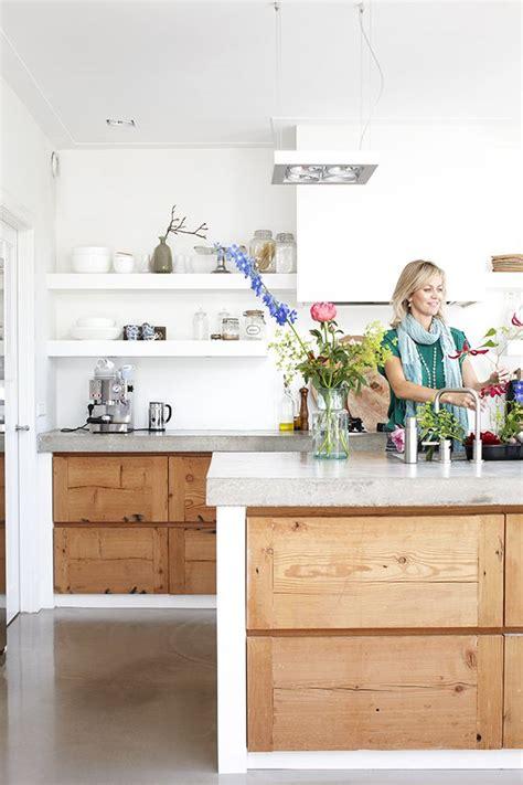 keuken hout en beton beton in de keuken thestylebox