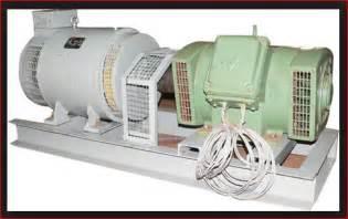 Electric Car Motor Generator Motor Generator Set M G Set Electrical4u