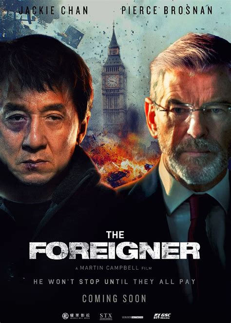 foreigner musique film the foreigner jackie chan france