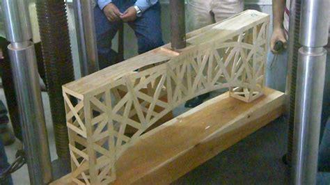 imagenes de puentes hechos de palitos puente ecol puente de palitos de madera olimpianeic youtube