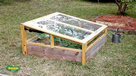 How to Build a Raised Bed Cold Frame   Bonnie Plants