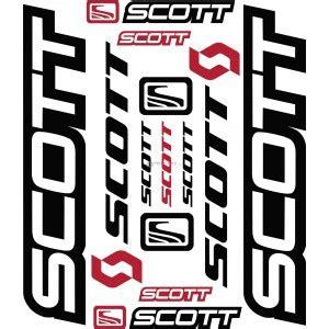 juego bici scott pegatinas  motos coches