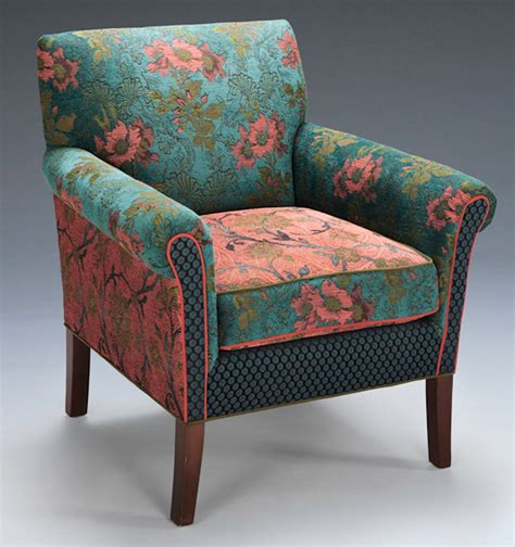 Upholstered Chair by Salon Chair In Zinnea By O Shea Upholstered