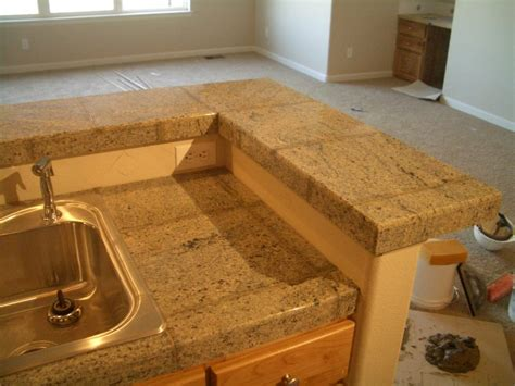 what type of tile is best for kitchen countertops