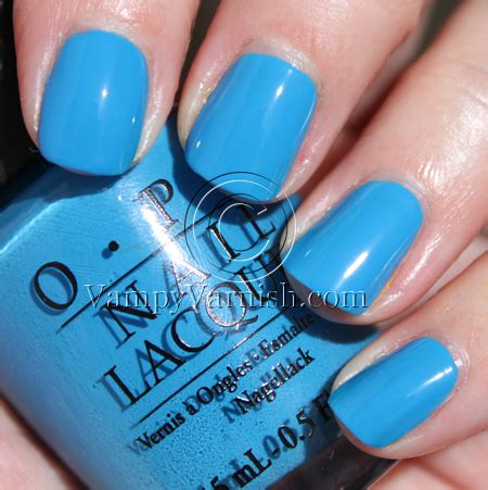 opi light blue colors opi shrek forever after collection swatches review