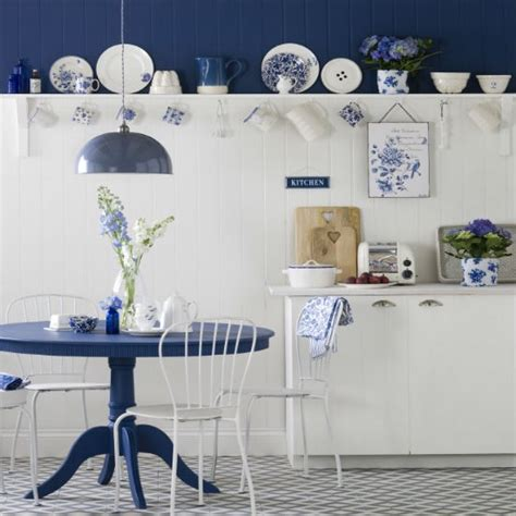 blue and white kitchen ideas blue and white country kitchen kitchen design ideas