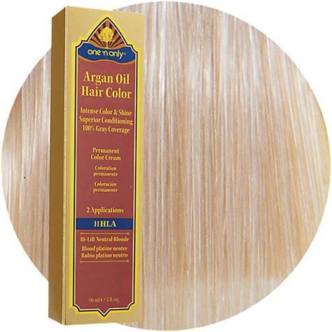 argan hair color one n only argan hair color