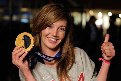 Gold Medalist Snowboarder Kaitlyn Farrington   Sochi