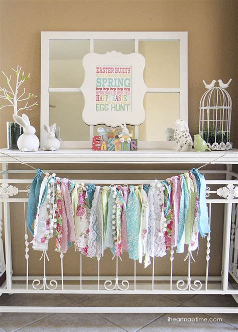 25 best ideas about rag garland on pinterest rag banner fabric garland and ribbon garland