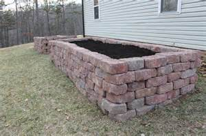 Raised Rock Garden Beds Paint Speckled Pawprints Raised Flagstone Vegetable Garden Beds
