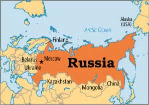 map of and russia russia operation world