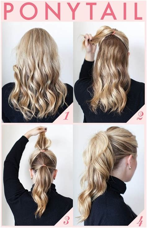 7 And Easy Hairstyles by 7 Pretty Hairstyles For School That Are And Easy
