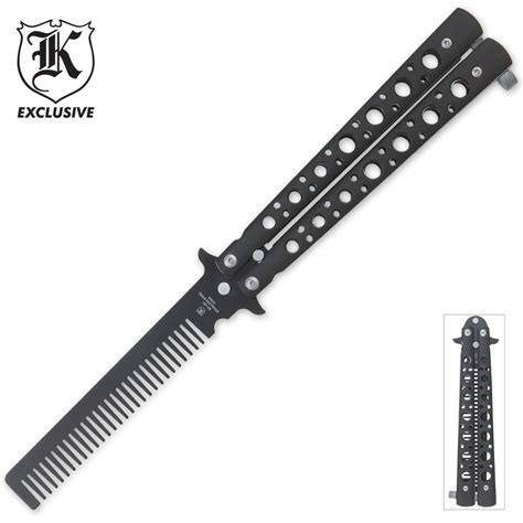 Butterfly Hair Comb butterfly hair comb budk knives swords at the