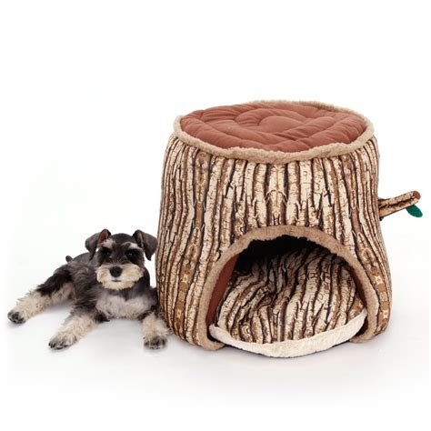 dog house for winter pet dog bed cat dog house winter warm tree shape dog kennel soft thicken puppy cat