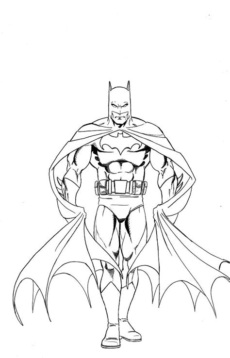 batman pictures to draw coloring home