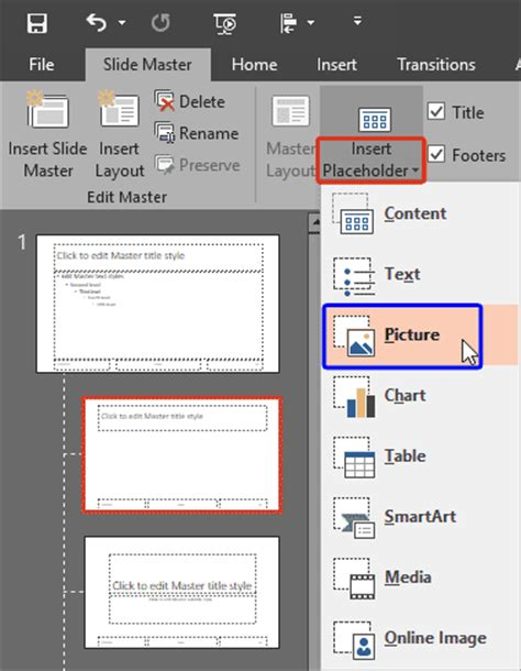 format html placeholder formatting picture placeholders in powerpoint 2016 for windows