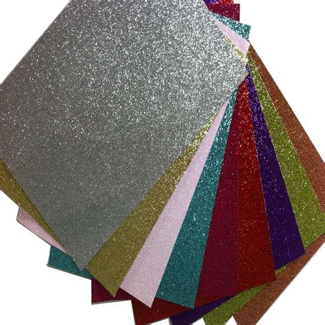 12 Inch Origami Paper - 10 sheets free shipping 12 inch glitter origami paper