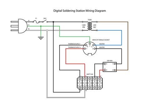 wiring diagram for soldering iron 33 wiring diagram