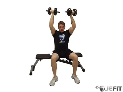 seated dumbbell bench press dumbbell seated reverse grip shoulder press exercise