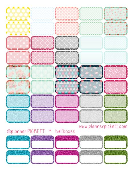 free printable planner sticker 2016 free planner printable stickers for eclp erin condren