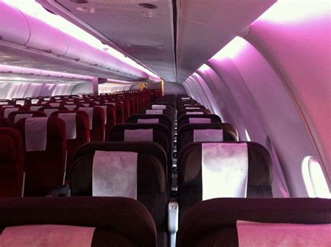 atlantic a330 economy cabin interiores