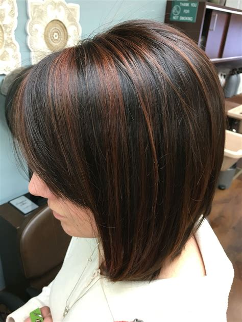 cocoa brown hair color cocoa cinnamon highlights hair ideas in 2019