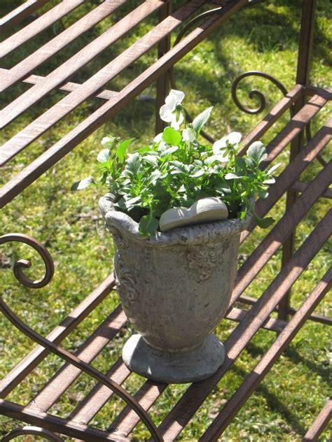 Garten Deko In Rostoptik by Blumentreppe Aus Metall In Rostoptik Garden Dekoshop
