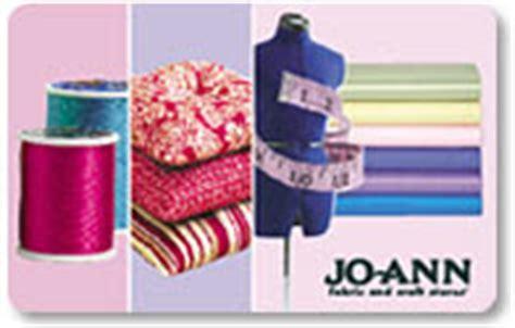 Where Can I Buy Joann Fabrics Gift Cards - jo ann fabric gift card at joann com