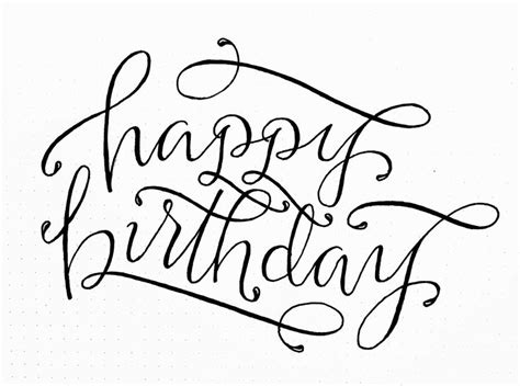 printable happy birthday fonts 1000 ideas about happy birthday typography on pinterest