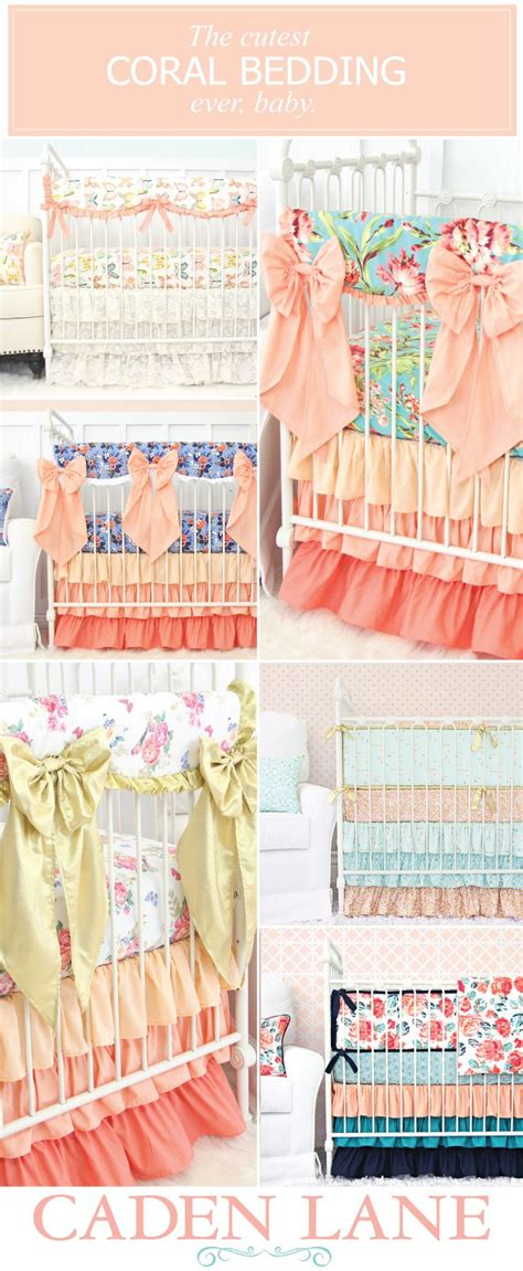 Coral Baby Crib Sheets Best 25 Coral Crib Bedding Ideas On Baby Bedding Coral Baby Bedding And Coral Bed