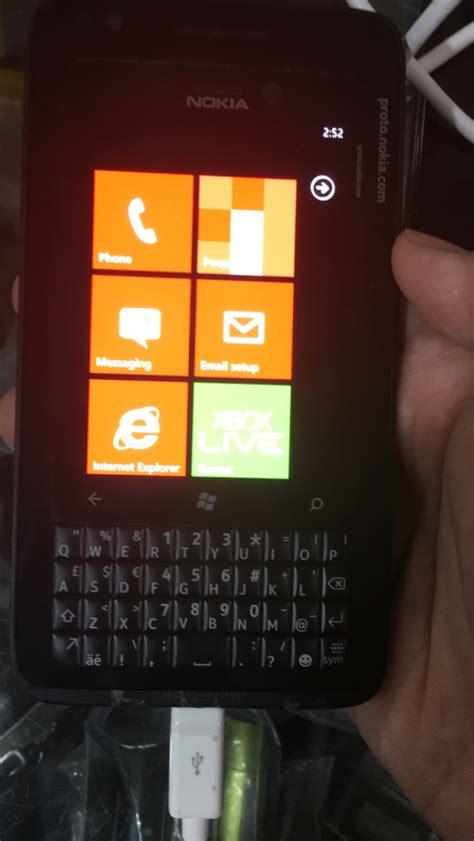 qwerty keyboard nokia phones nokia lumia prototype with qwerty popped up nokiamob