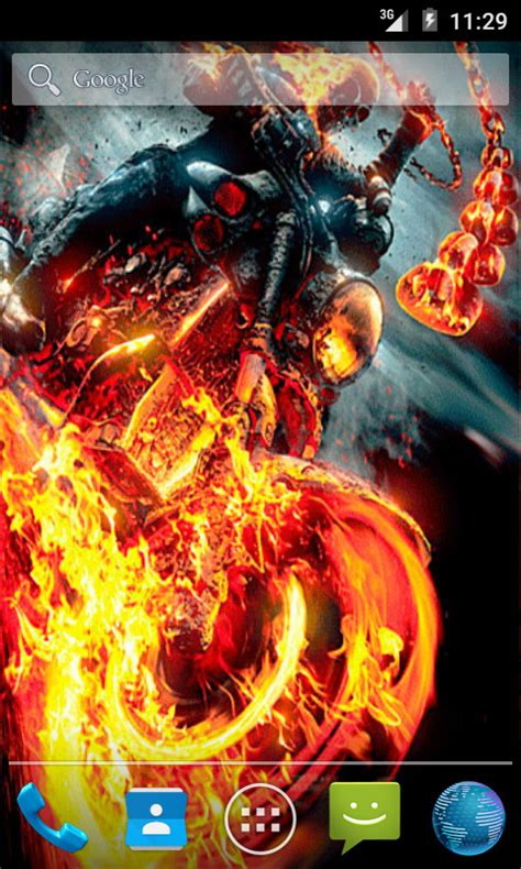 ghost rider apk free ghost rider 2 live wallpaper apk for android getjar
