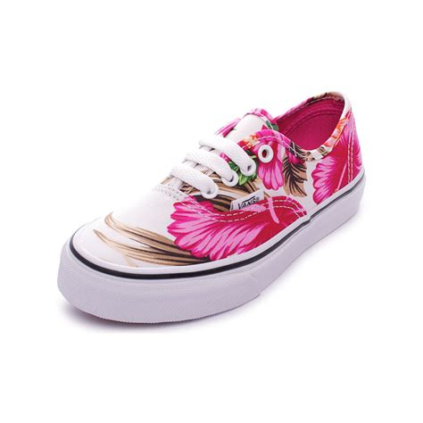 Vans Authentic Floral Premium Icc vans authentic hawaiian floral white scarpe sneakers