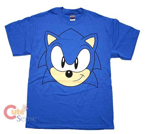 sega sonic the hedgehog sonic big facet shirts