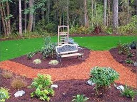 how to decorate garden with mulch 5 ways for unique flower bed home improvement day