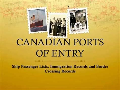 Canadian Records Legacy Family Tree Webinars Following A Surname Around The World Tracing Emigrants