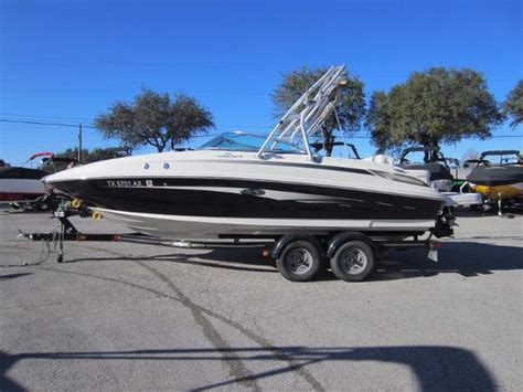 deck boat for sale austin texas sea ray 230 sundeck boats for sale in texas