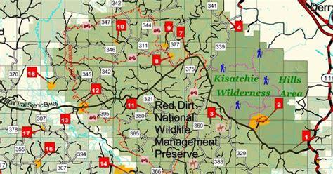 kisatchie louisiana map sandstone trail map kisatchie national forest atv trails