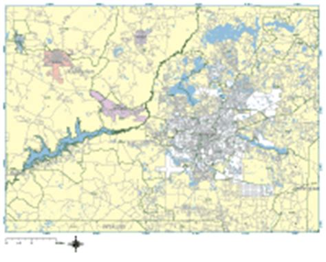 zip code map tallahassee tallahassee digital vector maps download editable