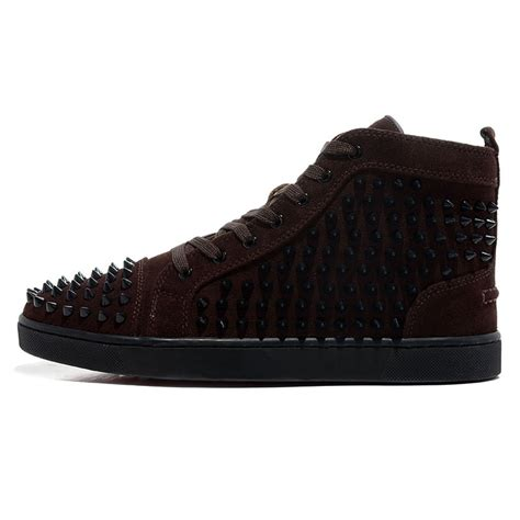 christian louboutin mens sneakers christian louboutin mens spiked sneakers louboutins