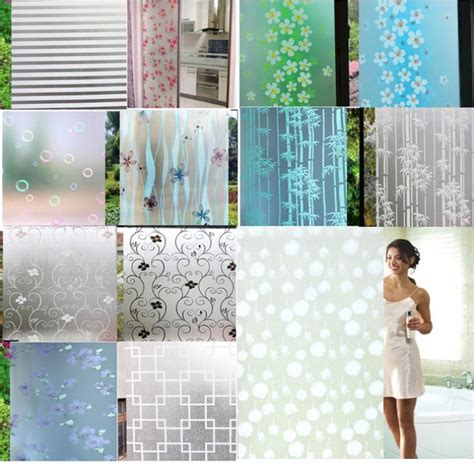 privacy sticker for bathroom window waterproof pvc privacy frosted home bedroom bathroom