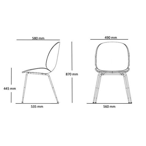 Dining Chair Dimensions Best Home Design 2018 Dining Chair Measurements
